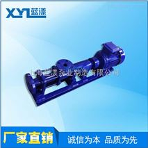 供应G型单级螺杆泵 不锈钢泥浆泵厂家