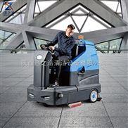 容恩R180駕駛式全自動洗地機停車場用洗地車