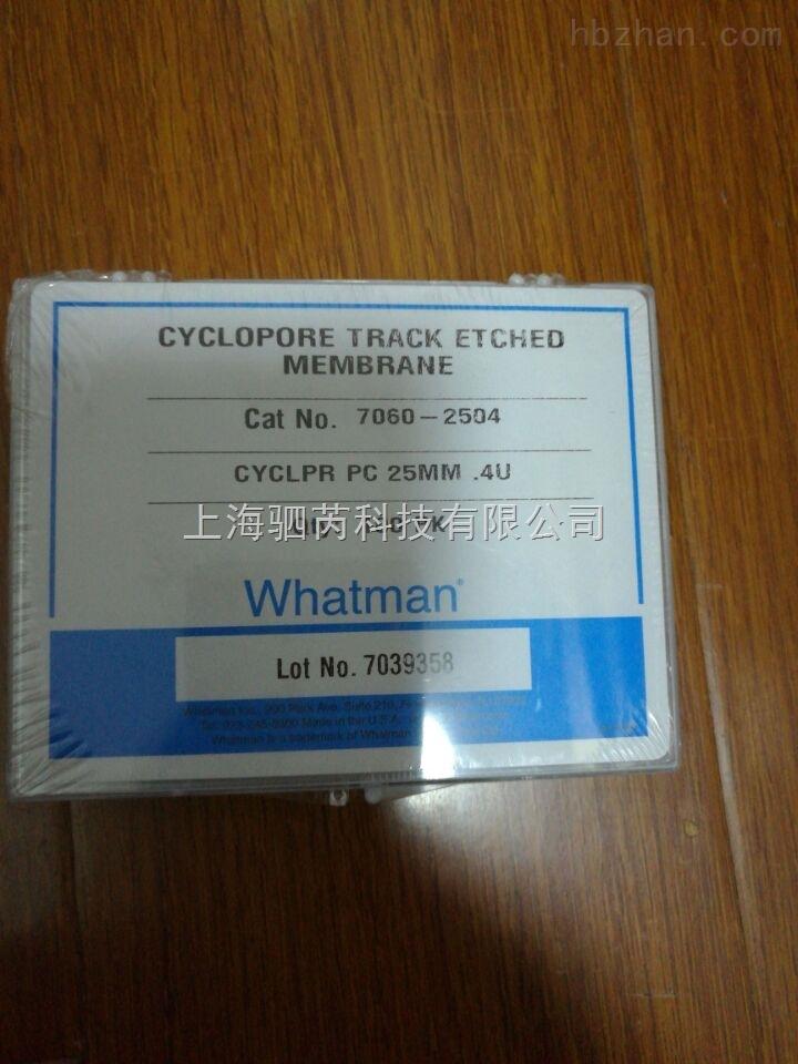 CYCLPORE TRACK PC膜径迹蚀刻膜7060-2504