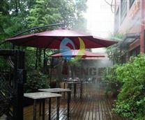 露天餐厅喷雾降温丨微雾加湿器