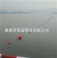 供应聚乙烯水上浮球 海上浴场拉网塑料浮球