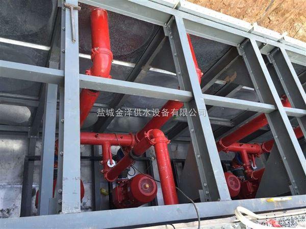 定州曲港高速地埋增压箱泵一体化泵站