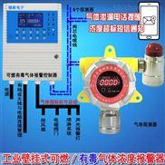 化工厂仓库氯甲烷气体报警器,可燃气体报警仪总线与分线有什么区别