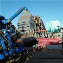 山東壓塊破碎機900型濟寧志慶機械生產線