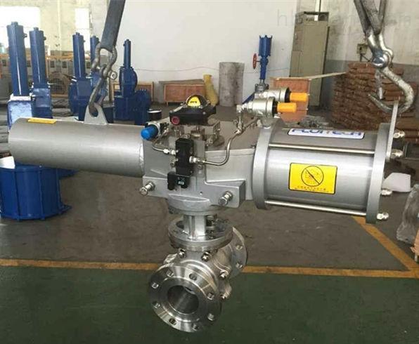气化器E01A进液氨切断球阀Q641F-40P-DN250