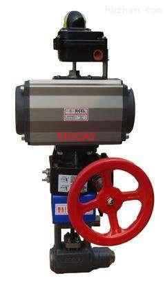 mogas气动球阀RSVP-UC3100 P91 BW 1.5-2.5