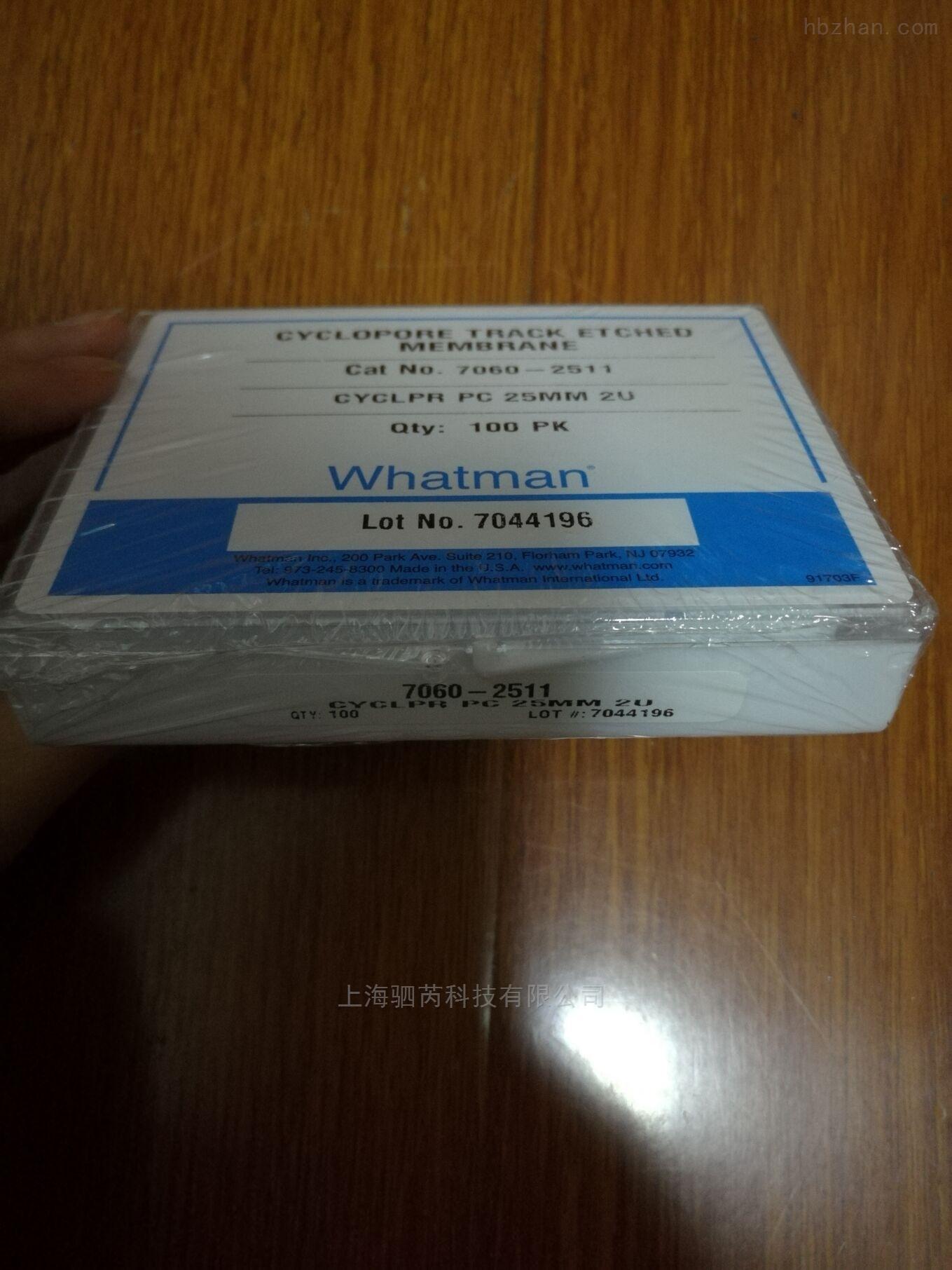 whatman2umCYCLOPORE聚碳酸酯膜7060-2511