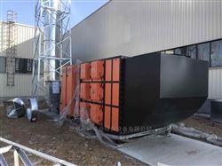 PVC手套加工车间油雾回收废气净化系统