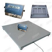 单层面板防爆电子磅秤,5吨化工用防爆地磅秤