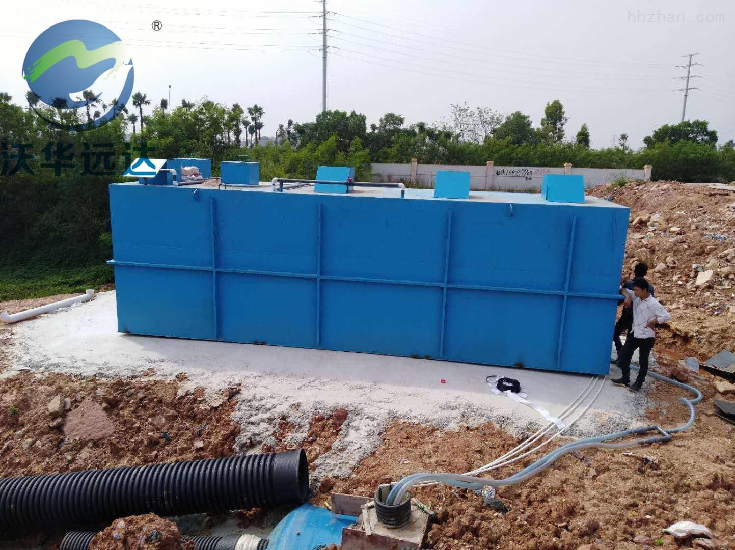 地埋式一体化污水处理设备安装说明