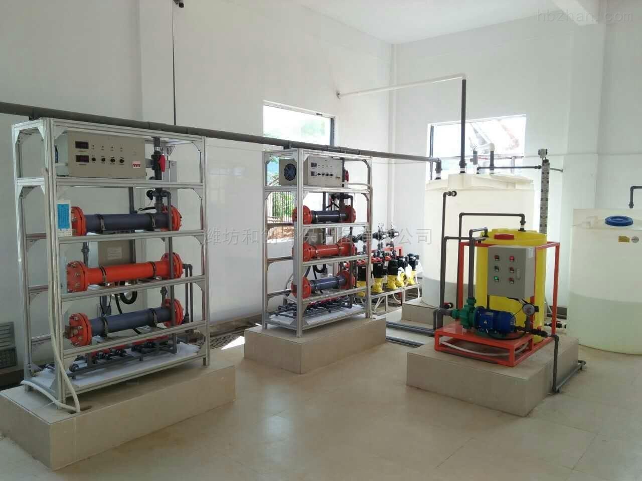 农村安全饮水消毒设备次氯酸钠发生器厂家