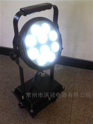 强光探照灯 手提式30w led移动照明灯