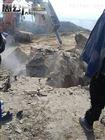 重庆岩石劈裂机手持式大力度岩石破碎分裂机