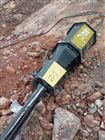 YGF自贡居民小区挖地基破石头替代放炮裂石机