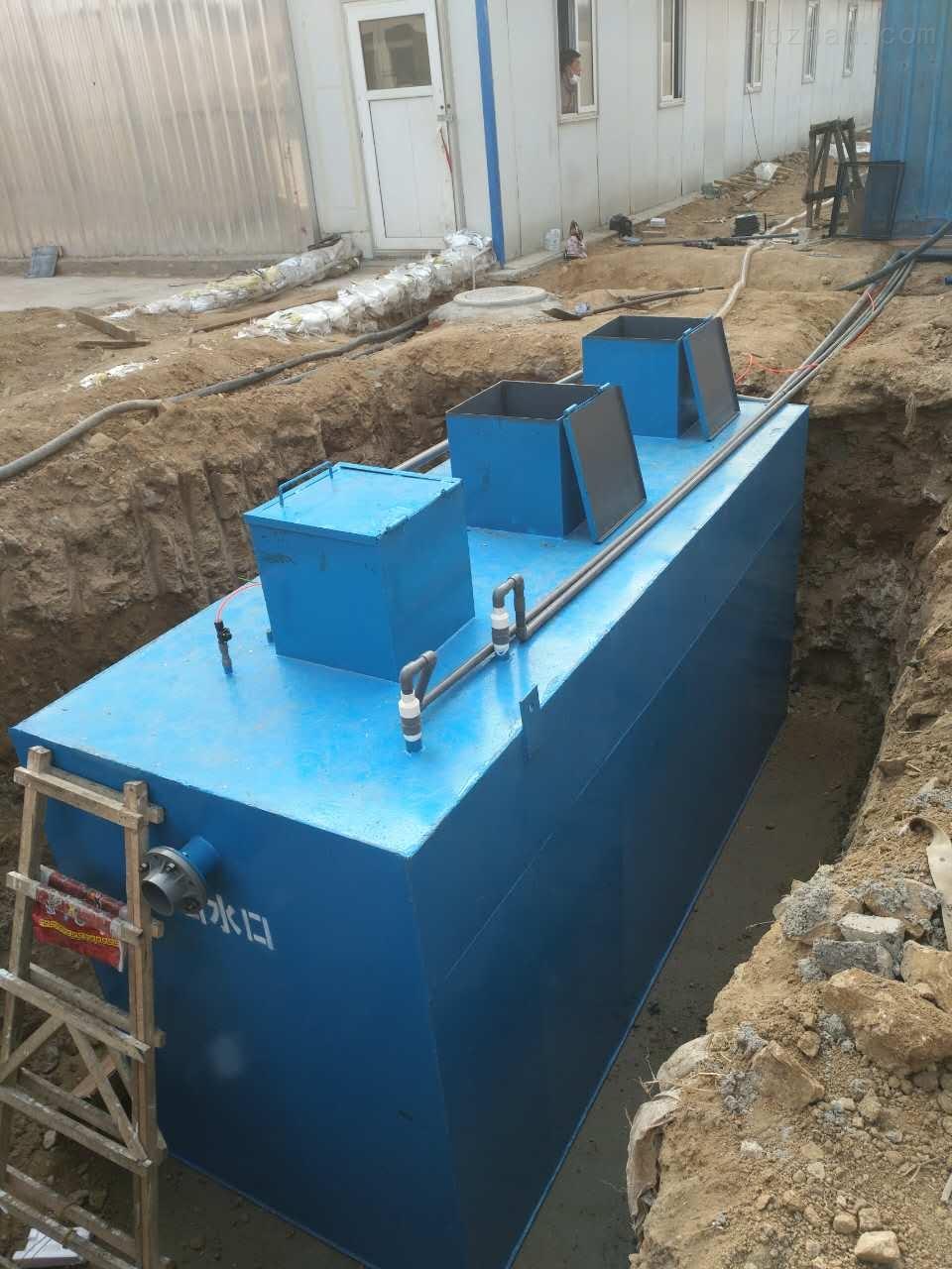 医疗废水处理方法现场验收