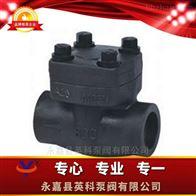 H61W型锻钢焊接止回阀