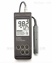 HI9033微電腦溫度補償功能電導率EC測定儀