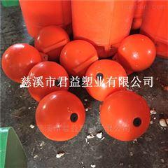 供应水面红色漂浮聚乙烯浮球 40公分浮球