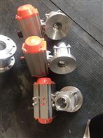 FQ41F-16C气动不锈钢放料球阀
