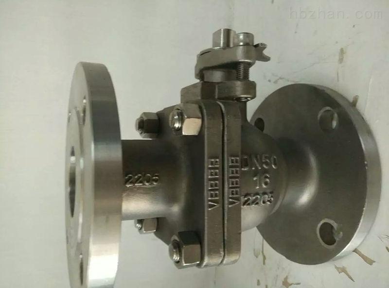 2205不锈钢软密封球阀Q41F-16DN50