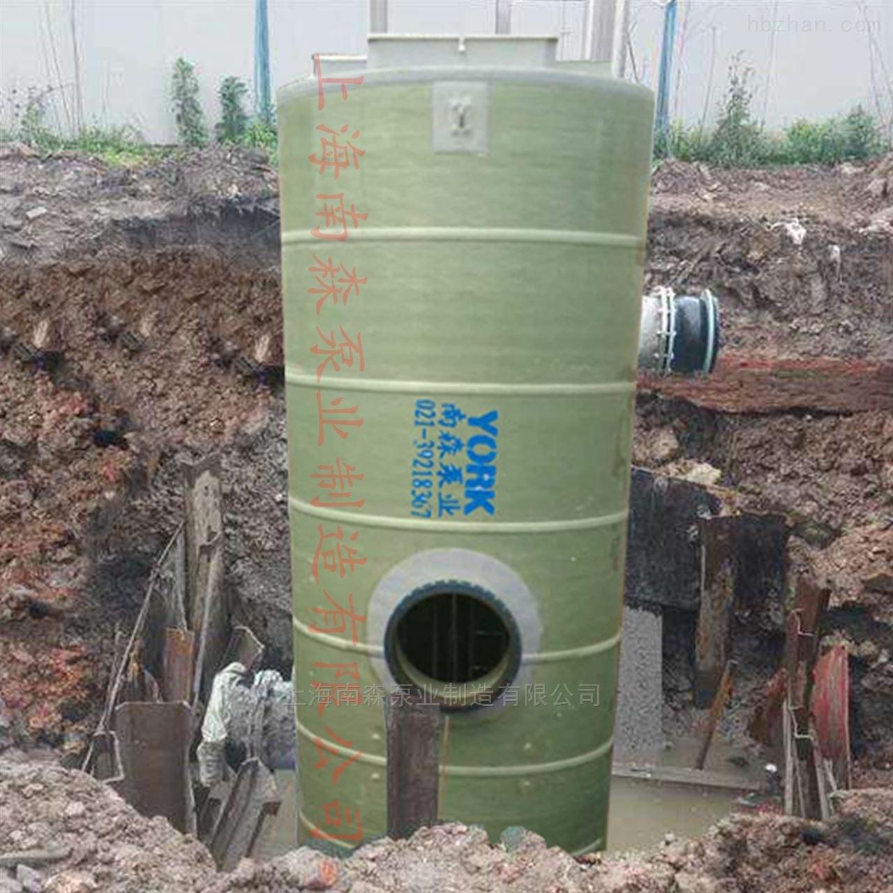 优质一体化预制泵站