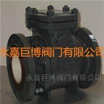 耐腐陶瓷排渣止回阀优质厂家