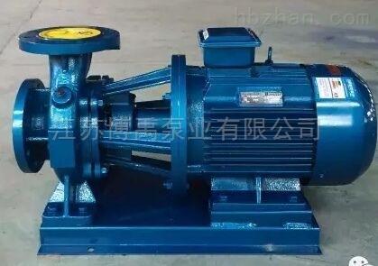 卧式电动单级离心式清水泵
