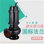 热卖污水处理泵 排污处理wq系列排污泵