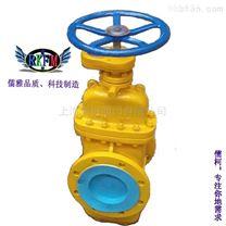 鑄鋼法蘭平板閘閥-上海儒柯