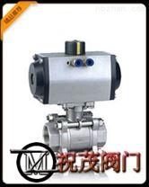 Q611F氣動三片式焊接球閥