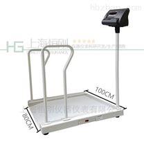 產輪椅秤廠家,不銹鋼扶手電子秤