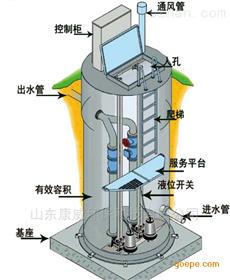 污水提升一体化泵站厂家