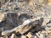 保山劈裂机大块岩石分解裂石机分裂机