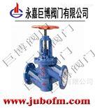J41F46衬氟法兰截止阀制造厂家