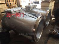 上海不銹鋼微阻緩閉止回閥HH44W-16P/25P/40P/64P/100P/R