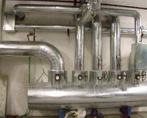 乐平管道铝皮保温施工 风筒保温