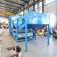 造纸污泥脱水处理一体化装置-污泥浓缩压滤机