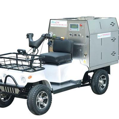 驾驶式电动柴油蒸汽洗车机