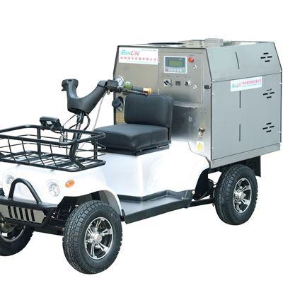 RL驾驶式柴油蒸汽清洗机