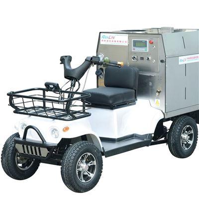 三轮蒸汽洗车机
