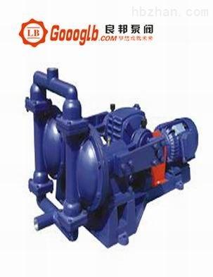 永嘉良邦DBY-100型电动隔膜泵