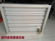 LBC-D电动双层防雨调节百叶窗