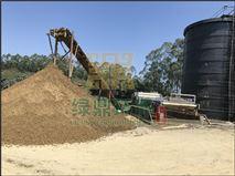 砂石料场泥浆脱水——不锈钢带式压滤机