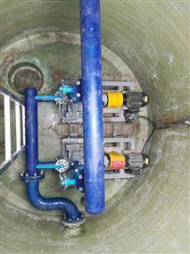 智能型一体化玻璃钢污水预制泵站