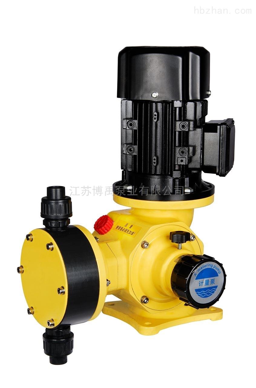 机械隔膜式计量泵型号参数及选型