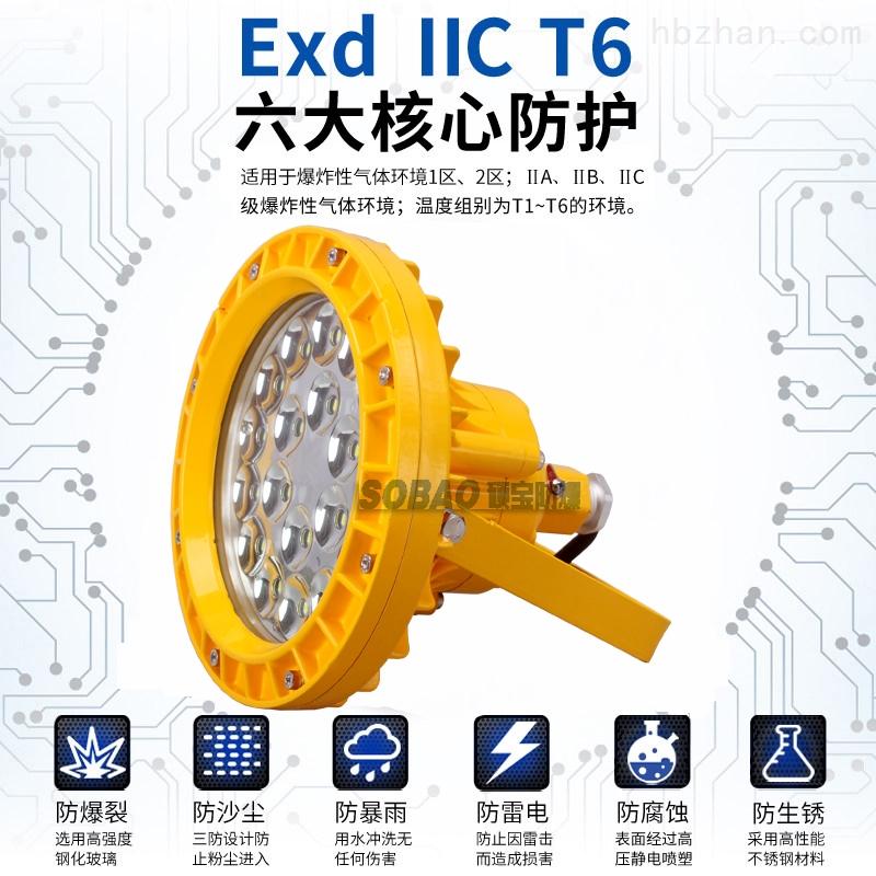 30Wled防爆灯40W免维护节能防爆灯50W防爆LED泛光灯
