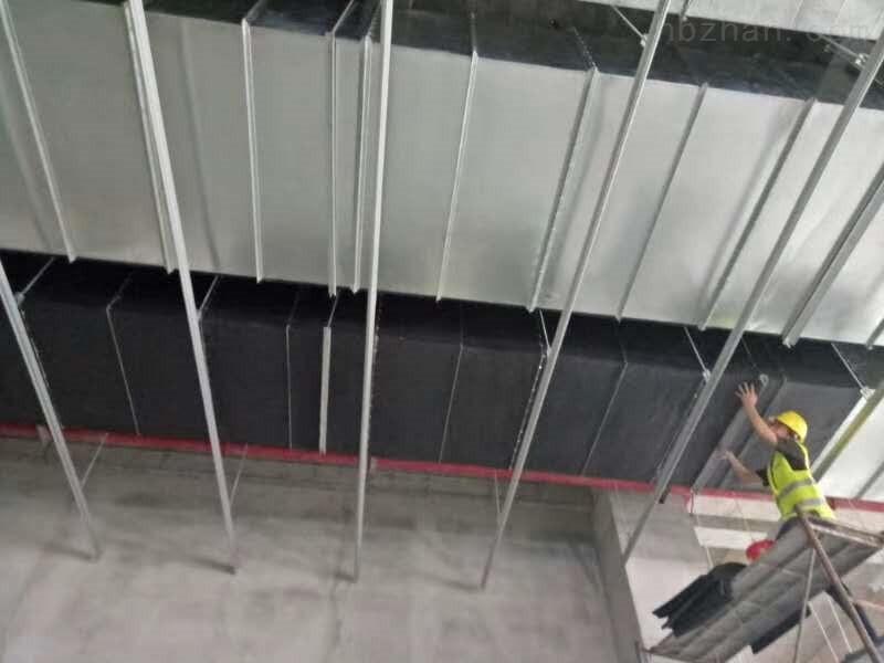 1公分厚~3公分厚烟囱、屋顶、墙体用橡塑保温材料吸音棉厂家