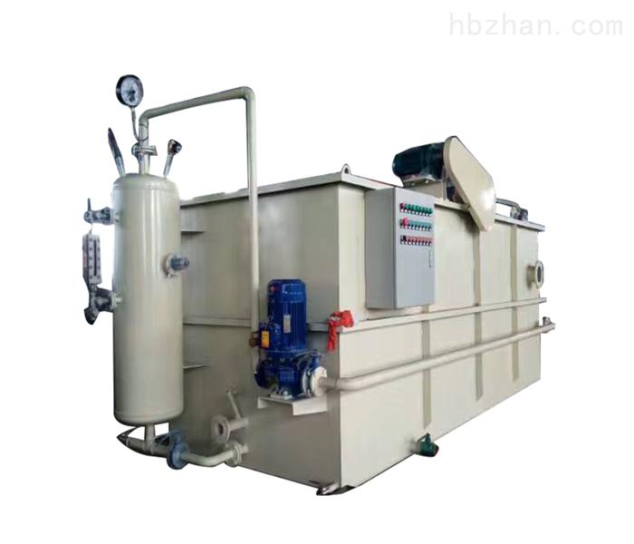 平流式溶气气浮机酿酒废水处理设备