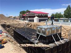 西安渭南地埋装配不锈钢消防泵站
