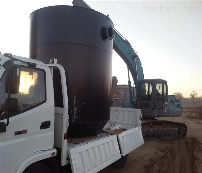 山东荣博源厂家直供无动力生态厌氧滤罐价格